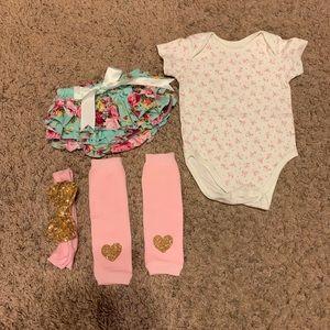 0-3 month clothing bundle